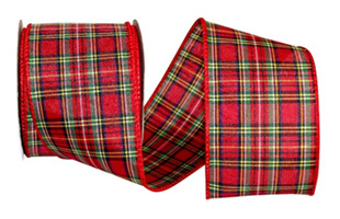 we even have a couple of 50 yard plaid christmas ribbon rolls for great deals all of our wired christmas ribbons are either lion or premium ribbon brands